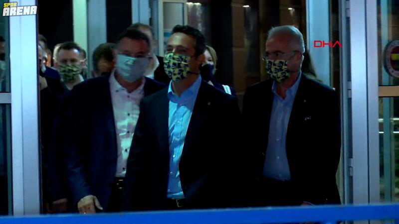 Fenerbahçe Başkanı Ali Koç, Ülker Stadyumu'ndan ayrıldı