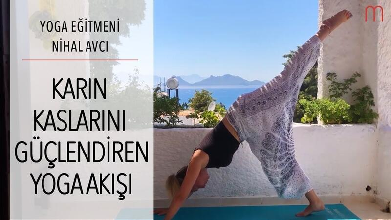 Karın Kaslarını Güçlendiren Yoga Akışı