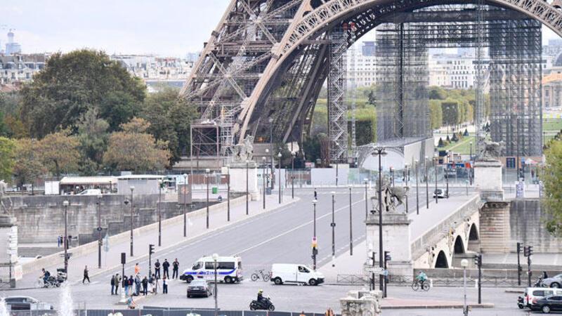 Son dakika haberi... Eyfel Kulesi'ndeki bomba ihbarı asılsız çıktı