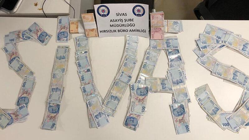 Emekli vatandaşın ev parasını çalan hırsızlar, Sivas'ta yakalandı