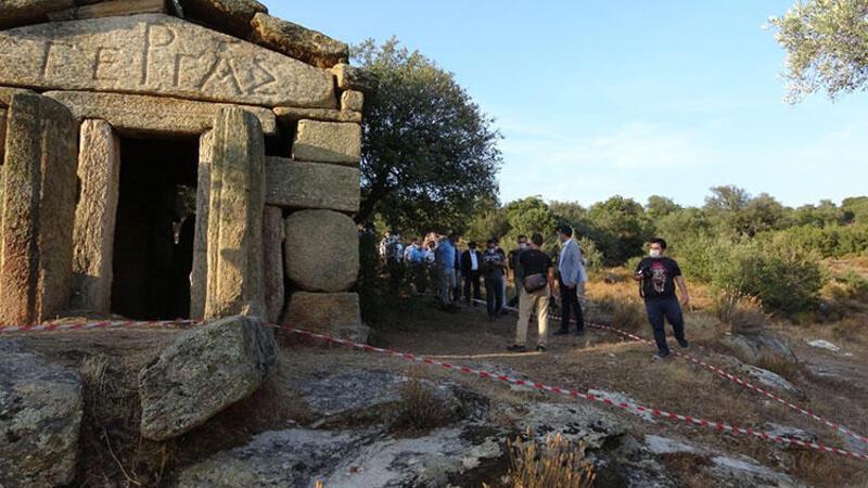 Gerga Antik Kenti'nde ilk kazma vuruldu