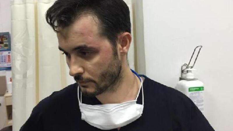 Hasta ve yakınları sağlık memuruna saldırdı