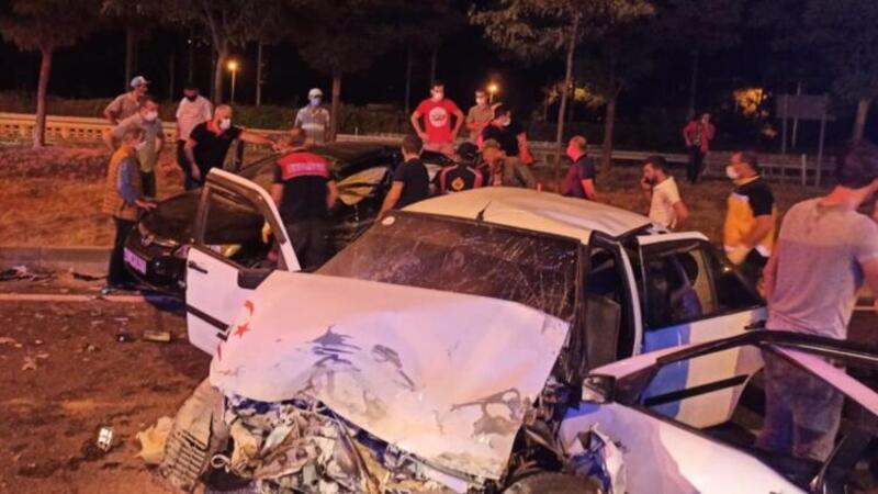 Bilecik'te feci kaza: Ölü ve yaralılar var