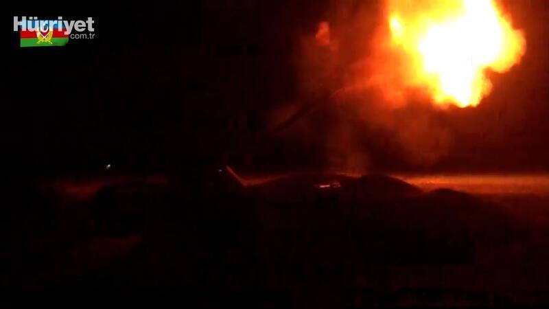 Azerbaycan, Ermenistan askeri hedeflerini gece boyunca vurdu