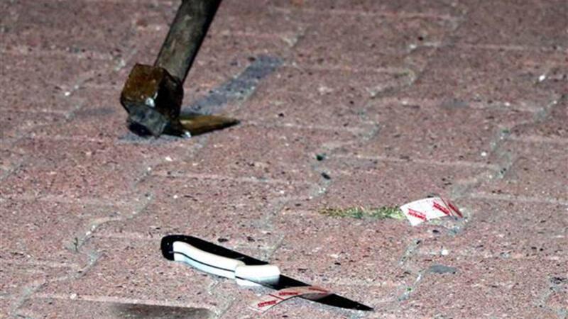 Kayseri'de bıçak, keser ve sopalı kavga
