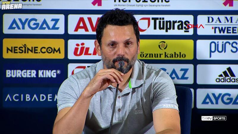 Erol Bulut: 'Milli maç arasından sonra daha iyi bir Fenerbahçe izlettireceğiz'