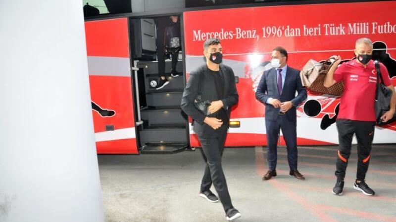 A Milli Futbol Takımı Almanya'ya gitti