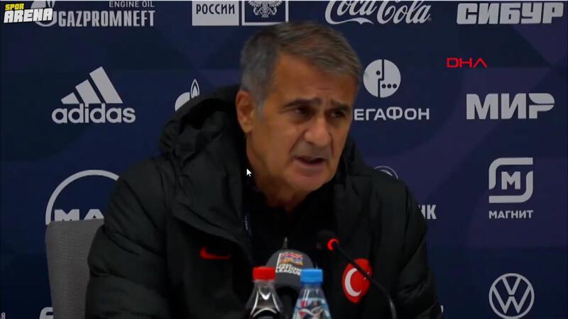 Şenol Güneş: 'Rusya maçının zorluğunun farkındayız'
