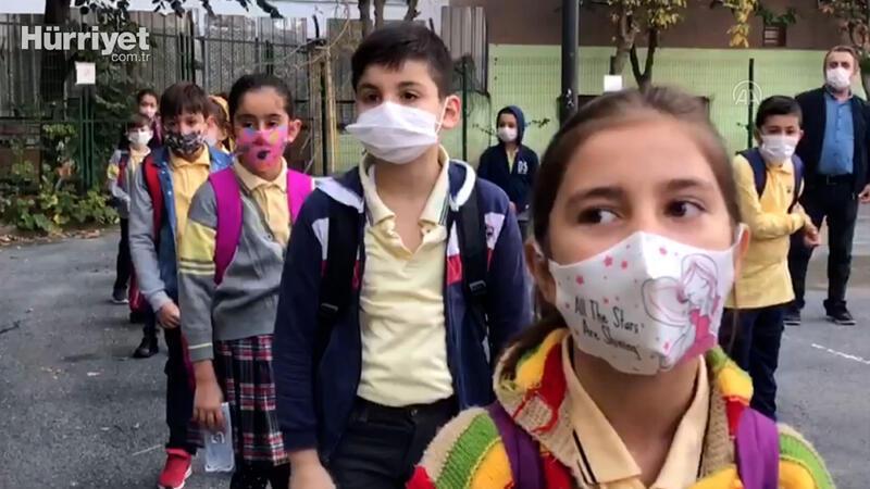 İstanbul'da, yüz yüze eğitime geçişte ikinci aşama başladı