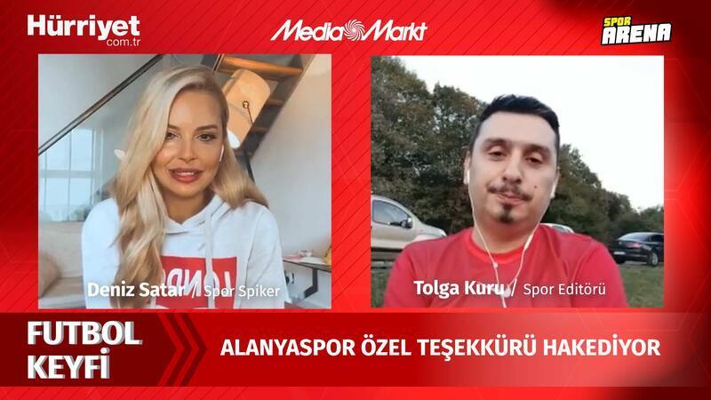 'Ozan Tufan ve Efecan Karaca'nın performansında Alanyaspor özel teşekkürü hak ediyor'