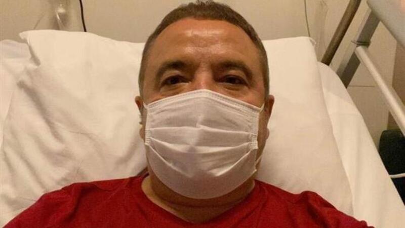 Son dakika haber... Antalya Büyükşehir Belediye Başkanı Muhittin Böcek uyandırıldı
