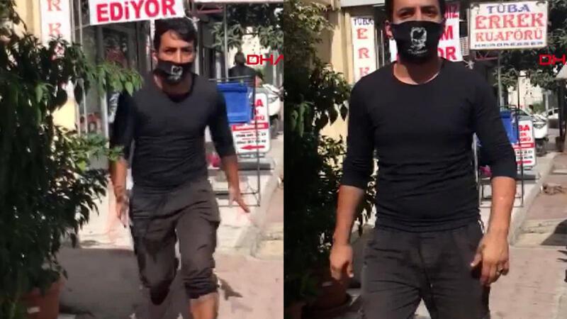 Antalya'da seyyar satıcı, kadın zabıtaya saldırdı