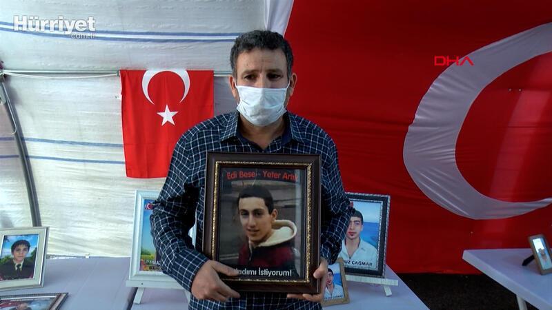 HDP İl binası önünde evlat nöbetinde 406. gün