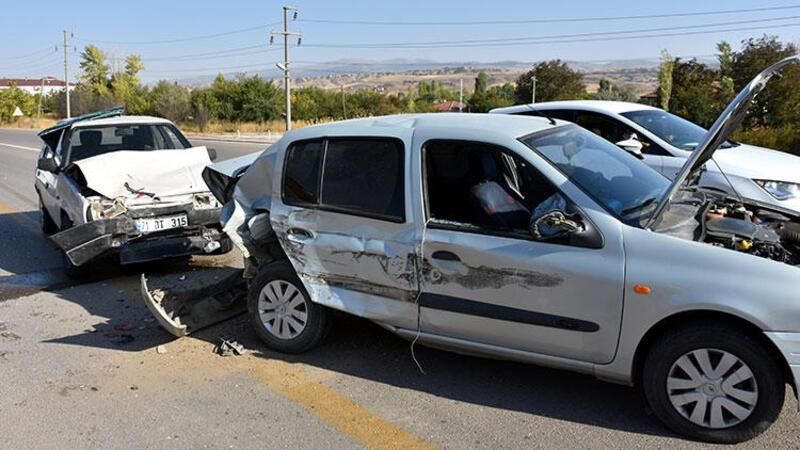 Kırıkkale'de korkunç kaza!