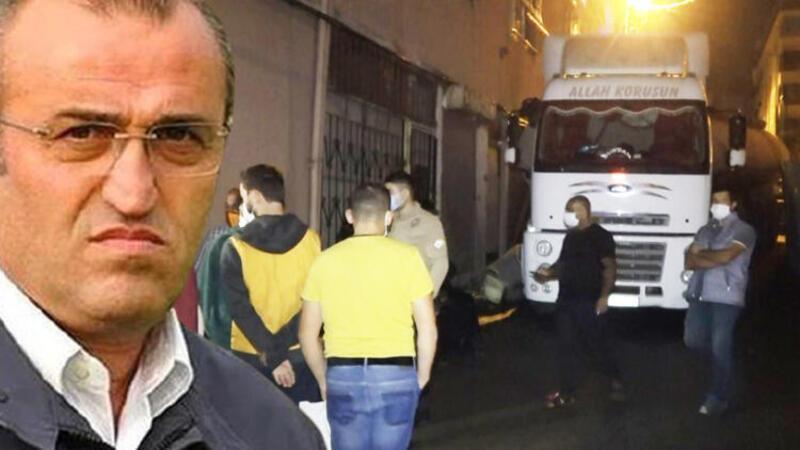 Abdurrahim Albayrak'ın annesinin yaşadığı binaya tanker çarptı