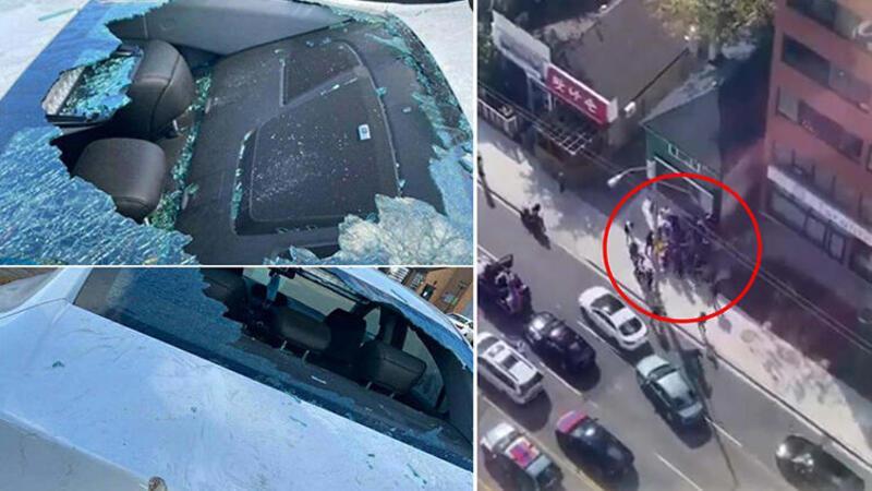 Kanada'da Ermeniler Azerbaycanlılar ve Türklere saldırdı