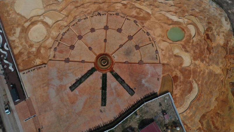 Pamukkale travertenlerinin benzeri 'Altınkale' açılışa hazır