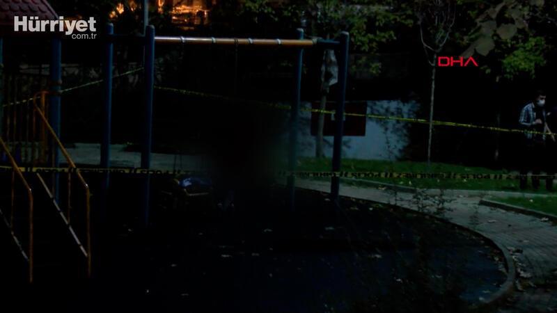 Çocuk parkında salıncak demirine asılı halde cesedi bulundu