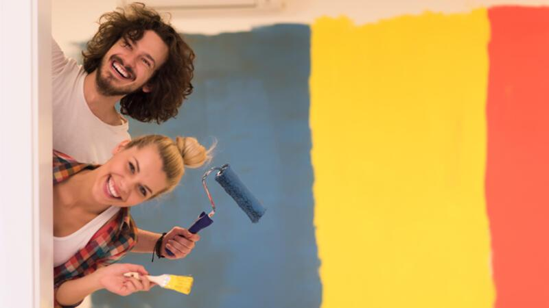 Evinizi kendiniz boyayın… Evde badana boya yapmanın püf noktaları