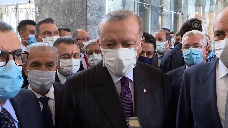 Son dakika... Cumhurbaşkanı Erdoğan'dan AYM üyesinin paylaşımı hakkında açıklama