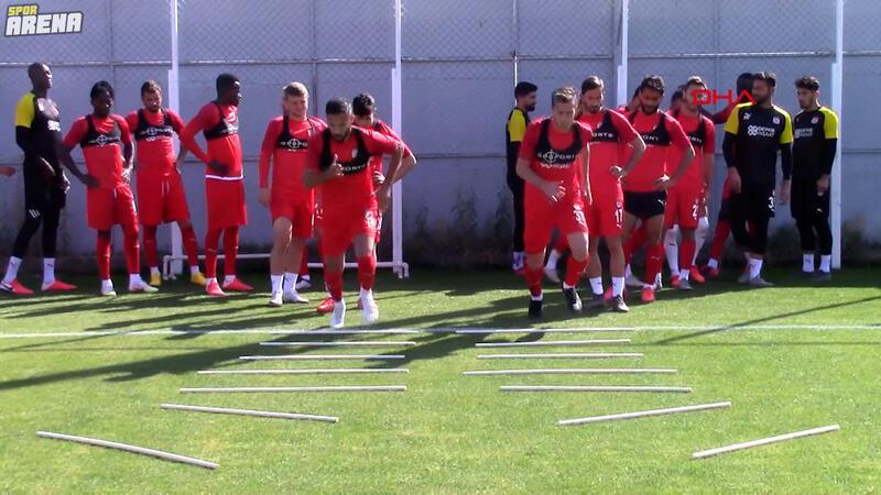 Demir Grup Sivasspor, Kayserispor hazırlıklarını sürdürdü