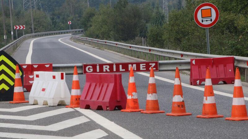 TEM Otoyolu Bolu Dağı geçişi Ankara istikameti ulaşıma kapatıldı