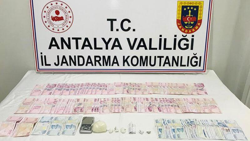 Antalya'da uyuşturucu operasyonunda 4 kişi yakalandı