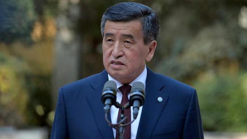 Son dakika haber... Kırgızistan Cumhurbaşkanı görevinden istifa etti