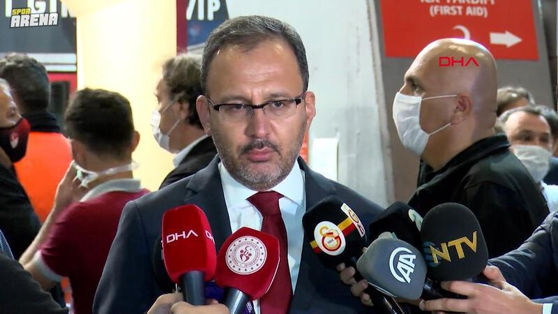 Bakan Kasapoğlu: 2021 yılında Türkiye'nin futbol ve diğer branşlarda yukarıya yürüyüşü devam edecek