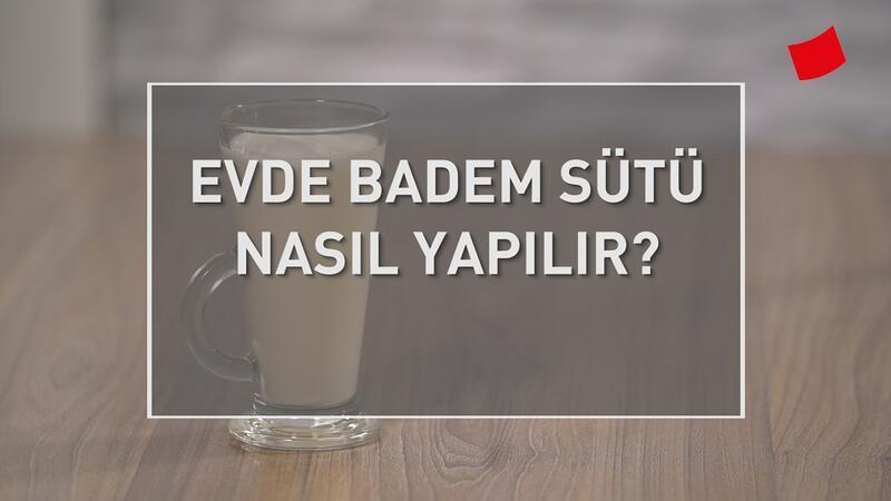 Evde Badem Sütü Nasıl Yapılır? | Mucize Lezzetler