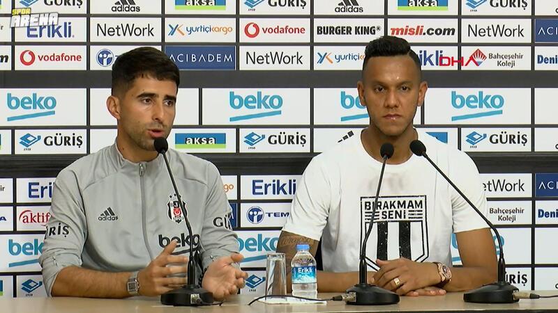 Josef de Souza: 'Sergen hoca ile Beşiktaş'ı zirve yarışında nasıl tutabileceğimizi konuşuyoruz'