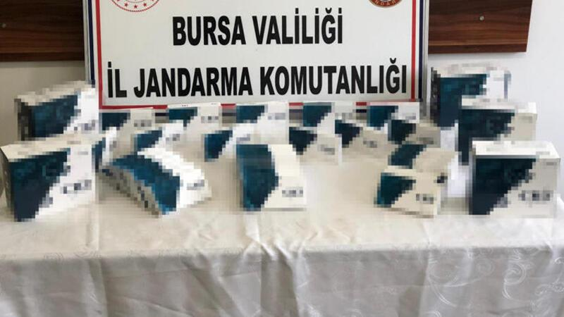 Bursa'da, internetten 'koronavirüs test kiti' satanlara operasyon