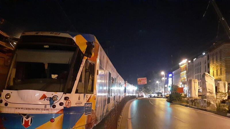 Beyazıt-Laleli arasında tramvay seferleri durdu