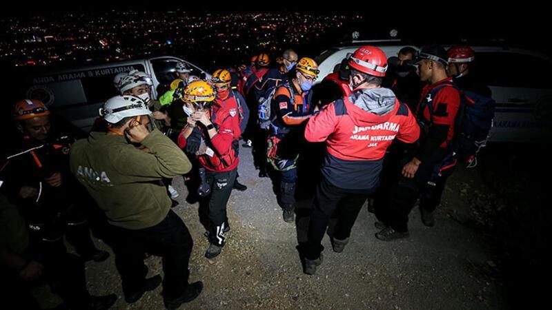 Uludağ eteklerinde kaybolan 4 kişi aranıyor