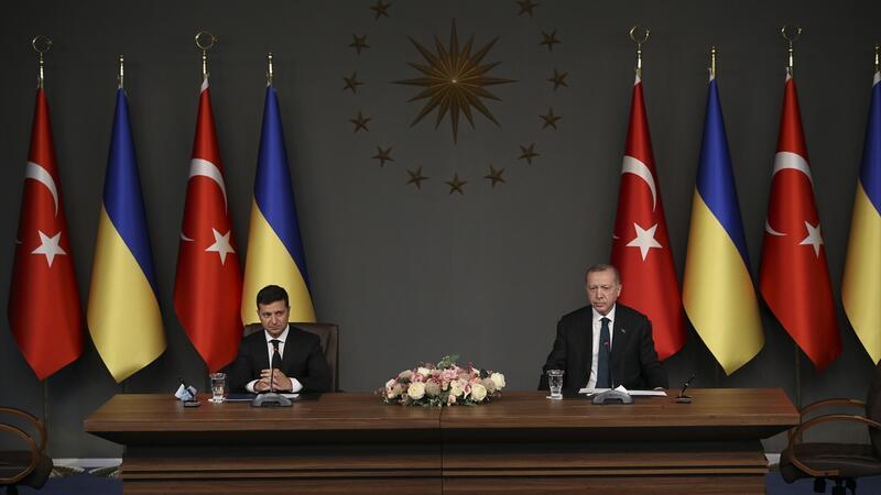 Son dakika haberi: Cumhurbaşkanı Erdoğan ve Zelenskiy'den önemli açıklamalar