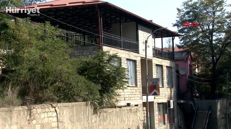 Azerbaycan, işgalden kurtarılan Hadrut'tan yeni görüntüleri paylaştı
