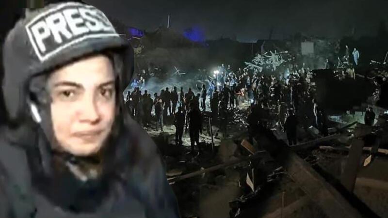 CNN Türk muhabirinin Gence'de zor anları! 'Cansız bedenine dokundum'