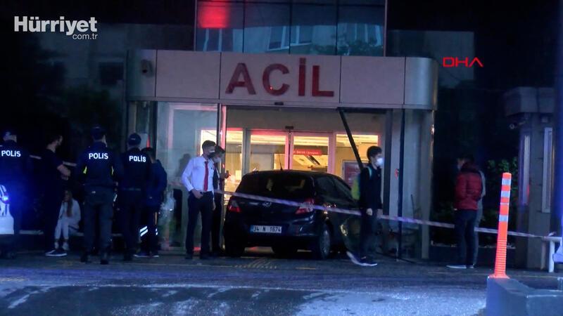 Şişli'de hastanede akılalmaz kaza
