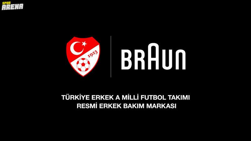 Braun,Türk A Milli Futbol Takımı'nın Resmi Erkek Bakım Sponsoru Oldu!