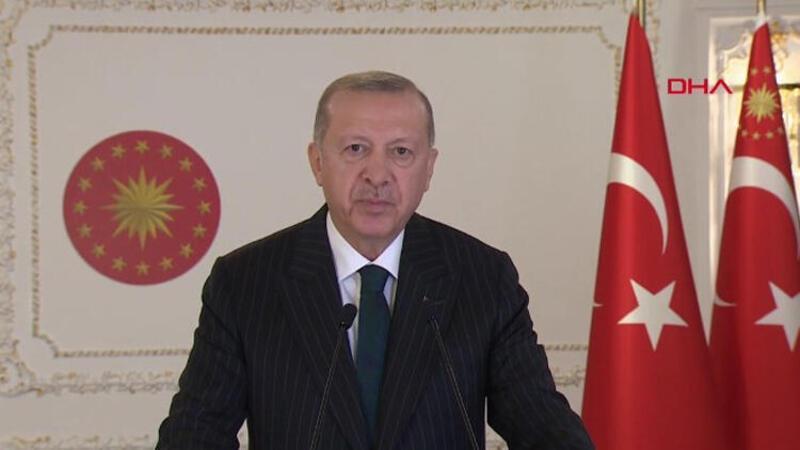 Son dakika haber… Cumhurbaşkanı Erdoğan'dan, İslam İşbirliği Toplantısı açılışına video mesaj gönderdi
