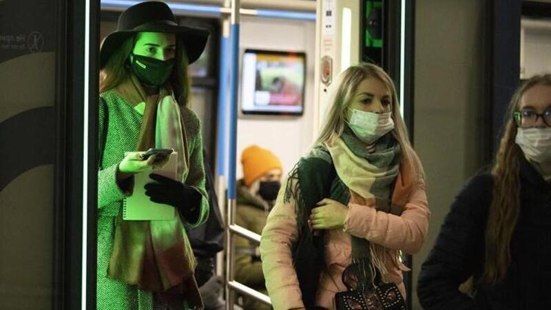 Rusya'da koronavirüste en yüksek günlük vaka sayısı