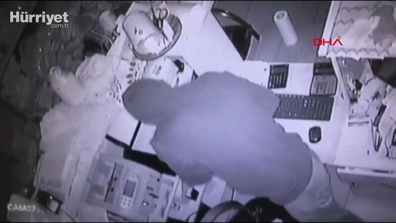 Duvarı delip hırsızlık yapan 4 şüpheli böyle yakalandı