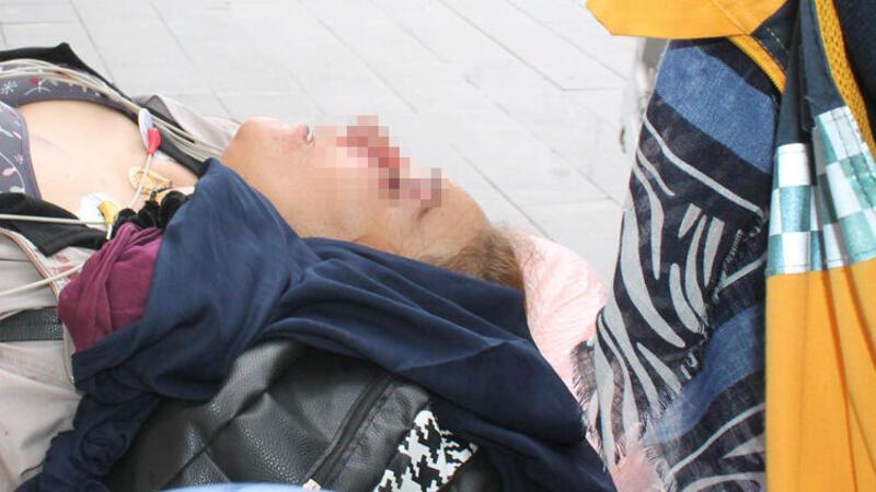Aksaray'da dehşet anları! Eşine kurşun yağdırdı, çocukları koşarak kaçtı