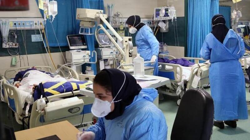 İran'da rekor vaka artışı görüldü
