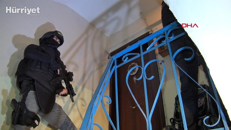 İstanbul'da DEAŞ operasyonu; çok sayıda gözaltı