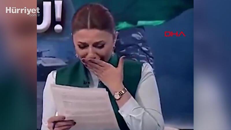 Azerbaycanlı spiker, Zengilan'ın kurtuluş haberini verirken gözyaşlarına boğuldu