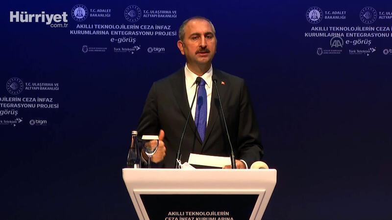 """Adalet Bakanı Gül: """"Hükümlüler eş, çocuk, aile ve yakınlarıyla irtibatlarını sağlayabilecek"""""""