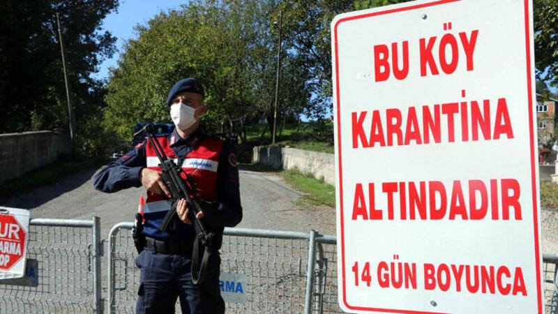 23 kişinin koronavirüse yakalandığı köy, karantinaya alındı