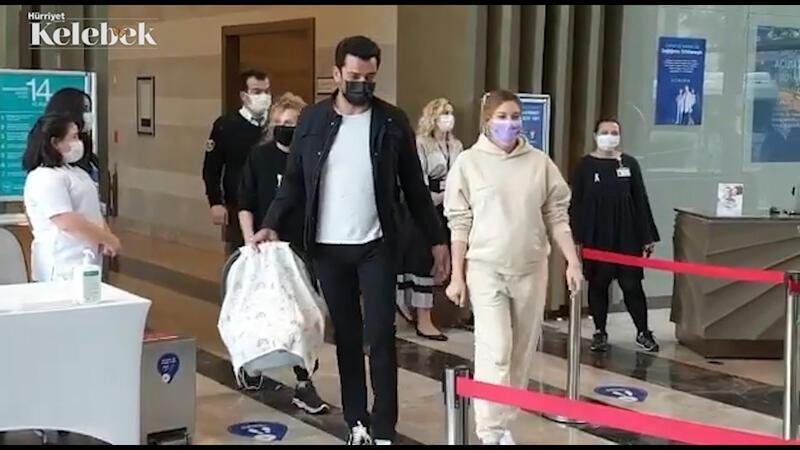 Sinem Kobal ile Kenan İmirzalıoğlu'nun mutlu günü.