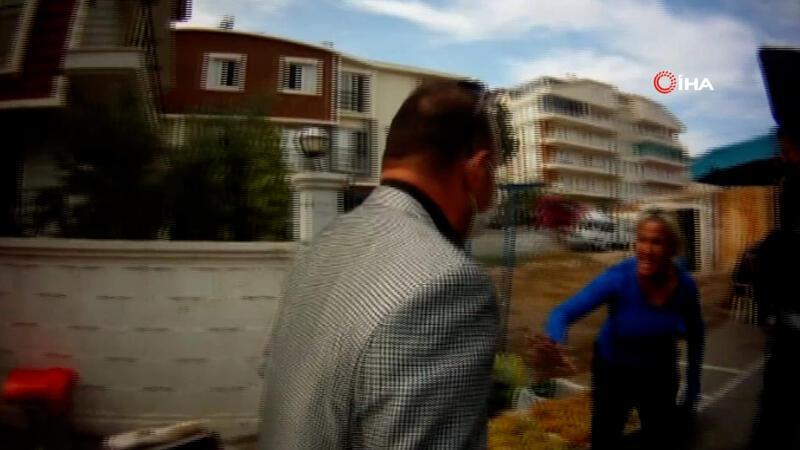 Seyyar satıcı karı-koca, zabıta müdürüne böyle saldırdı